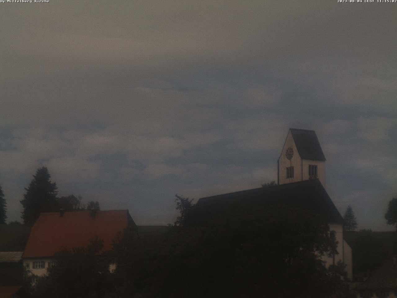 Mittelberg Kirche Webcam