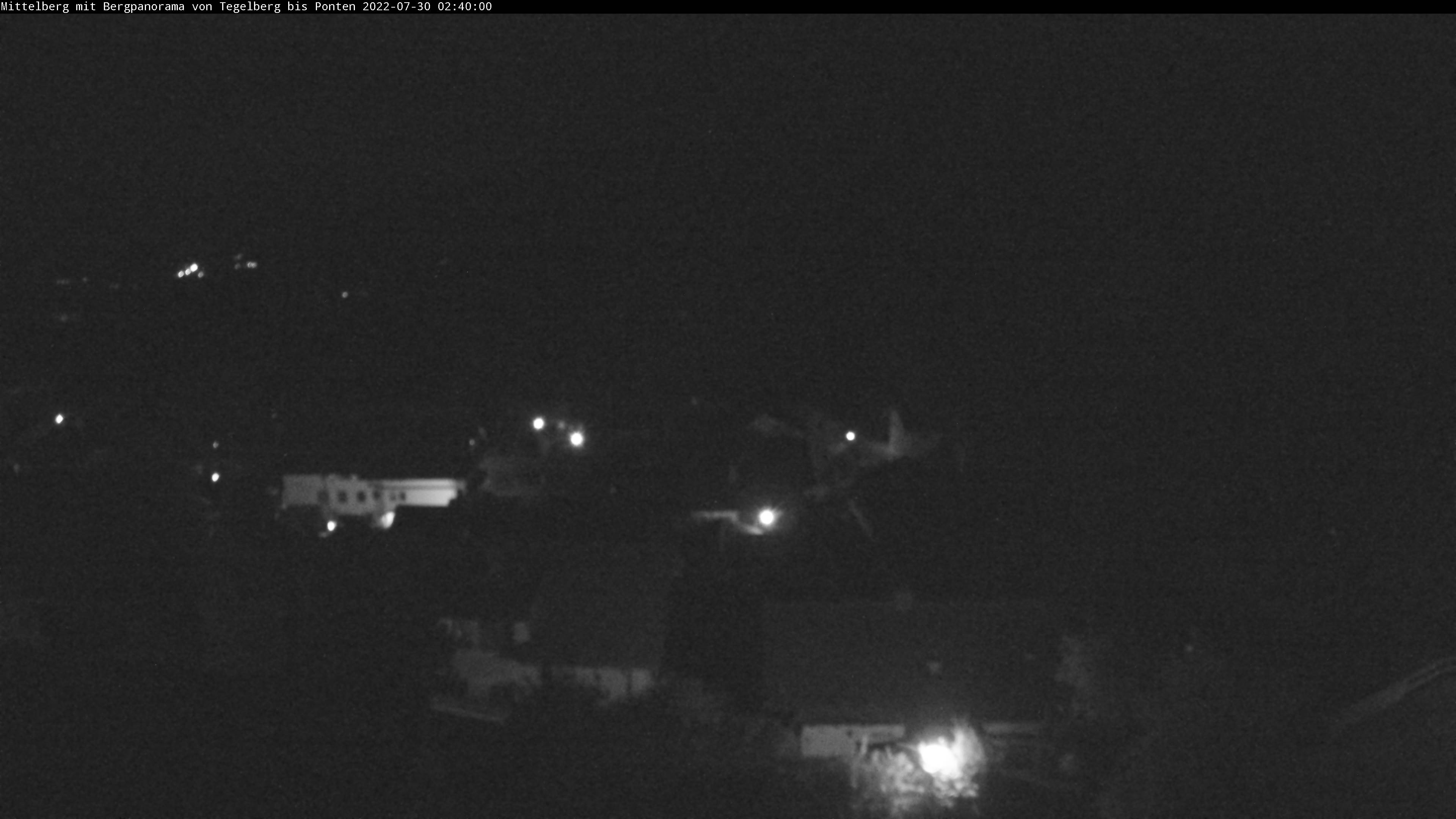 Mittelberg Bergpanorama Webcam